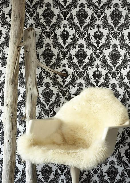 Tempaper - Damsel Wallpaper modern-wallpaper
