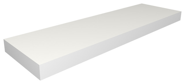 "Wall Shelf 36"", White - Modern - Display And Wall Shelves - by Way ..."