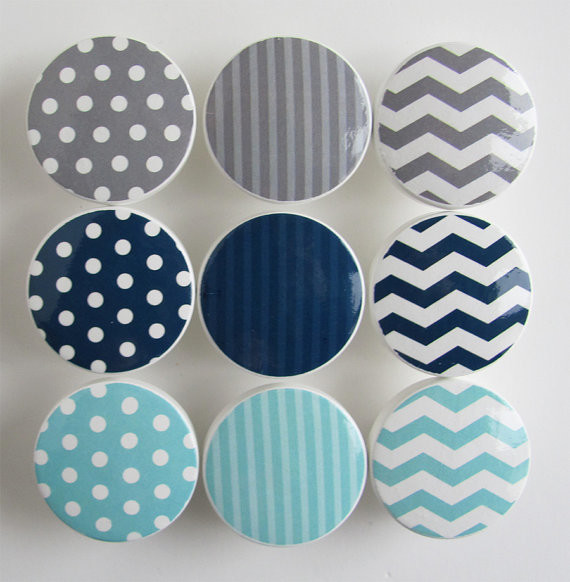 ... Pattern Knobs by Leila's Loft contemporary-cabinet-and-drawer-knobs