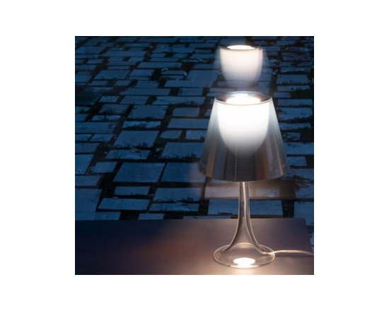 Miss K Color Table Lamp By Flos Lighting - http://www.modernnest.com/Products/Flos/MISS_K_COLOR.asp