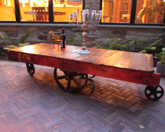 Coffee Table Cart -