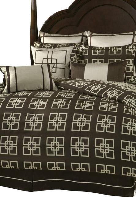 Savoy Queen 9 pc. Comforter Set modern-bedding