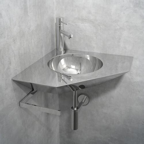 Modern Corner Sink : Componendo Orn Corner Sink - Modern - Bathroom Sinks - by YLiving ...