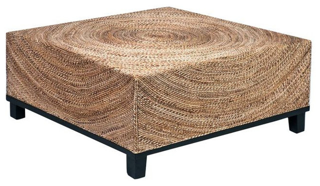 Sold Out Fluid Woven Abaca Square Cocktail Table 598 Est Retail 199 On C Coffee Tables