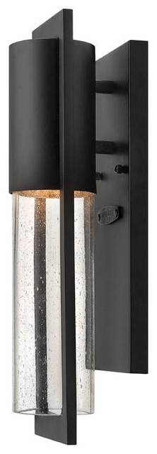 Hinkley Lighting 1326bk Dwell Black Outdoor Wall Sconce