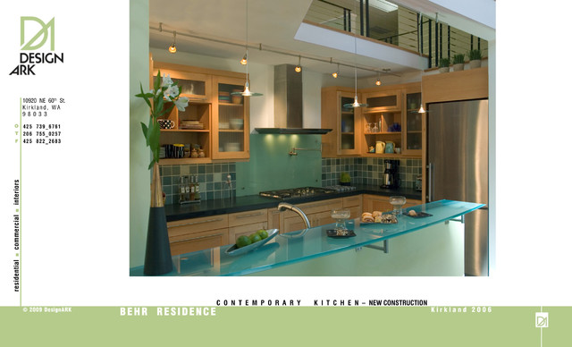 Kitchen design contemporary-kitchen