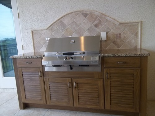 Naturekast Outdoor Summer Kitchen Cabinet Gallery: NatureKast Outdoor Kitchen Cabinetry