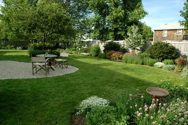 Bristol Garden - Traditional - Landscape - Providence - By Sunflower Designs