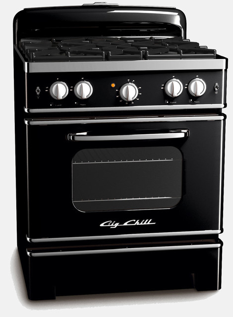 vintage inspired retro stoves from big chill eclectic