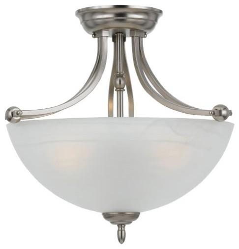 Delray Semi-Flushmount contemporary-ceiling-lighting