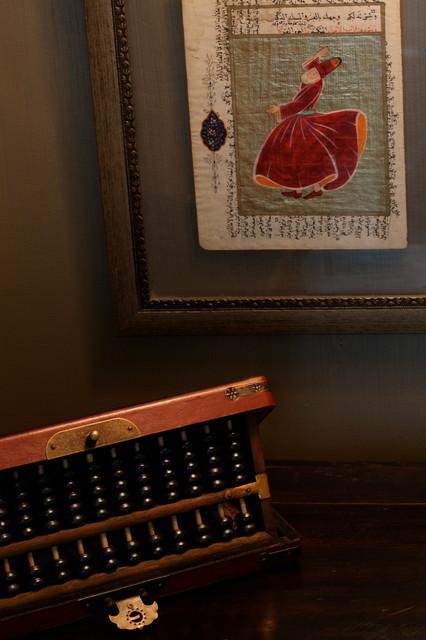 International Townhouse Retreat eclectic-bedroom