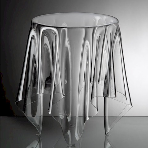 ESSEY Grand Illusion Table - Clear modern-side-tables-and-end-tables