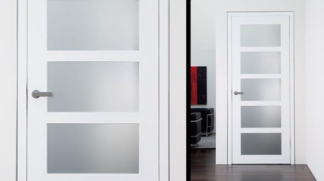 Modern interior doors Modern glass doors interior