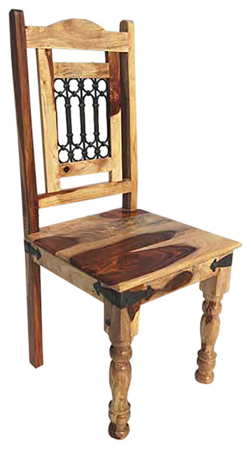 wood wrought iron rustic kitchen dining chair rustic dining chairs
