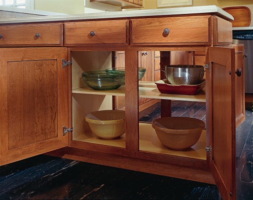 Aristokraft Double-Sided Peninsula Cabinet - Kitchen Drawer Organizers - other metro - by ...