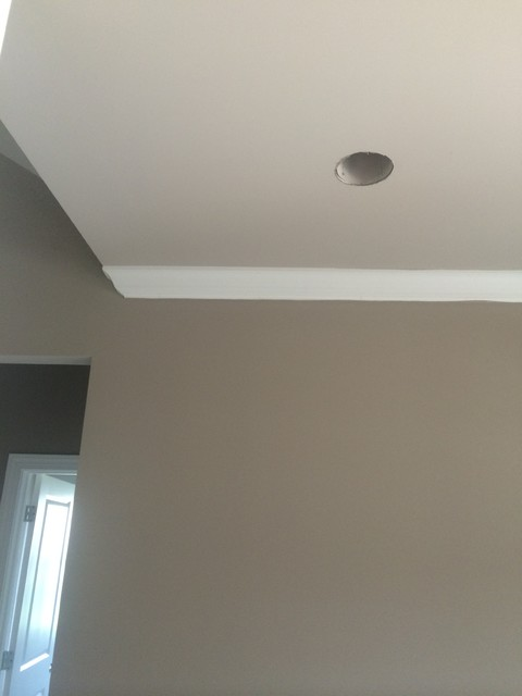 Sherwin Williams Mega Greige With Anew Gray Ceilings