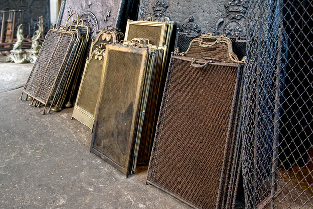 antique fireplace screens traditional fireplace
