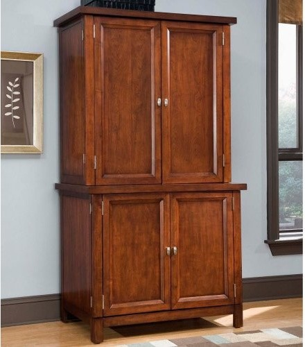 Home Styles Hanover Computer Armoire - Traditional ...