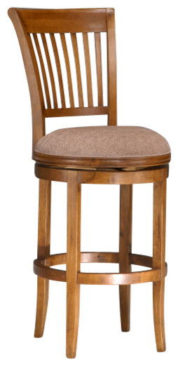 Hillsdale Oak View Swivel 24 Inch Counter Height Stool in  : traditional bar stools and counter stools from www.houzz.com size 254 x 522 jpeg 33kB