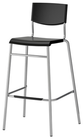 STIG Bar stool with backrest modern-bar-stools-and-counter-stools