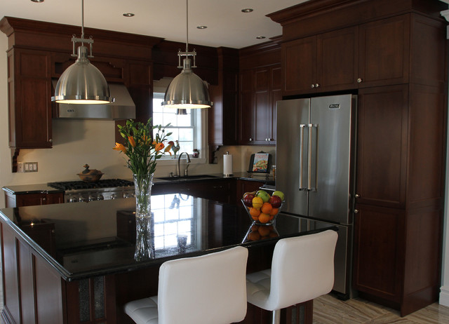 Sherbrooke Cuisine Ideale Design Contemporary Kitchen Cabinets