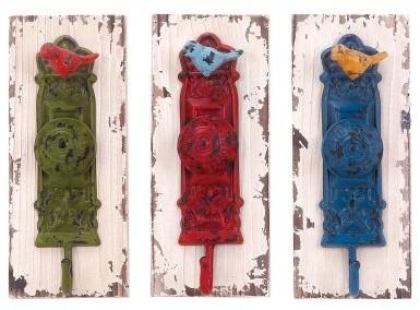 Vibrant Colored Wall Hooks - Set of 3 modern-home-decor