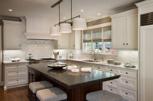 Classic white kitchen traditional kitchen