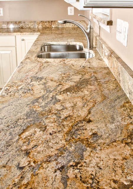 Yellow River Granite - modern - kitchen countertops - dc metro