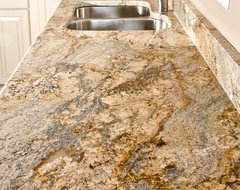 Yellow River Granite modern kitchen countertops