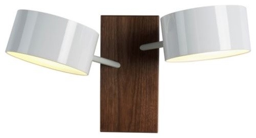 Excel Double Sconce contemporary-wall-lighting