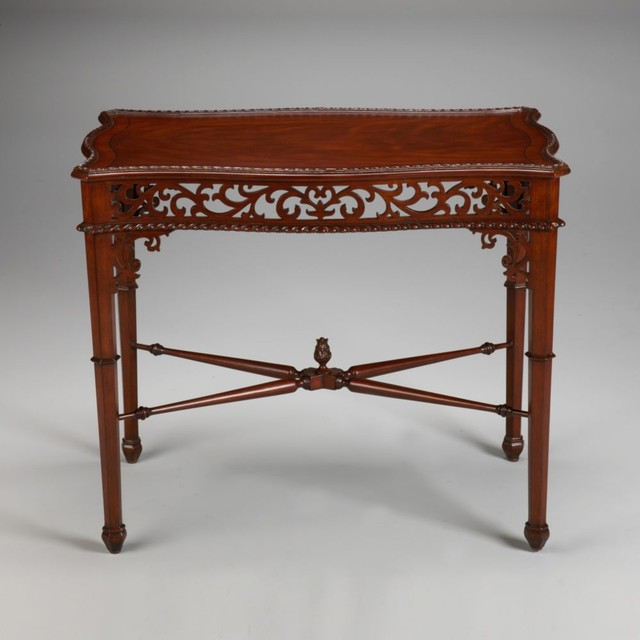 Traditional Coffee Tables Ethan Allen: Newport Gillian Tea Table