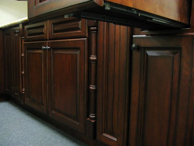 Cherry Antique Kitchen Cabinets Home Design - Traditional - Kitchen Cabinetry - columbus - by ...