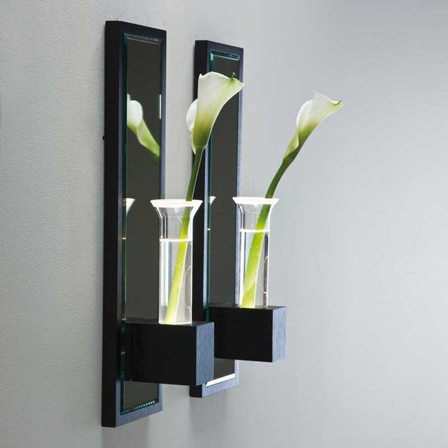 Lala Wall Vase Sconce - Modern - Vases - by Lightology