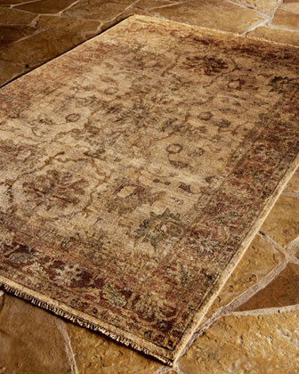 Latte Rust Rug traditional-rugs