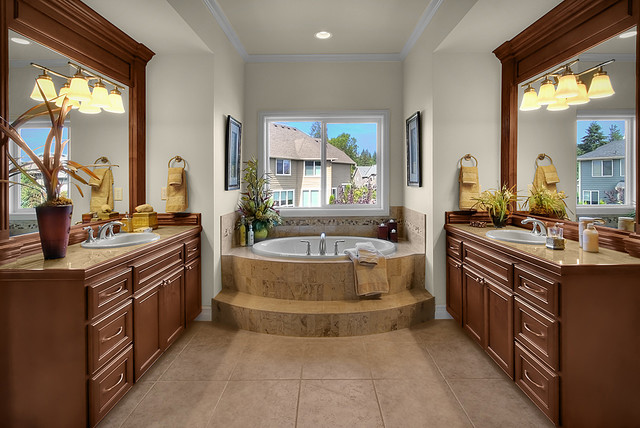 Montaine lot 15 Master Bathroom traditional-bathroom