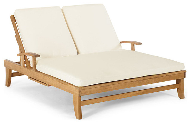 Melbourne double chaise cushion patio furniture for Chaise furniture melbourne