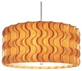 Pucci Drum Pendant by Dform Design contemporary-pendant-lighting