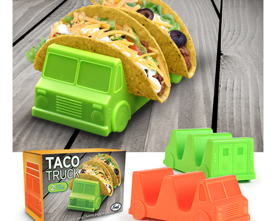 Taco Truck Taco Holders, Set of 2 -