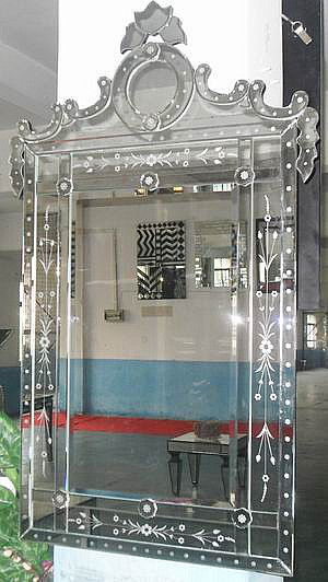 Venetian Wall mirror, antiqued wall mirrors makeup-mirrors