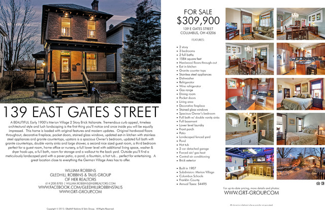 139 E Gates Street traditional-details