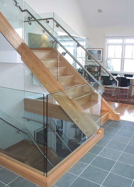 Staircase in Private Residence contemporary-staircase