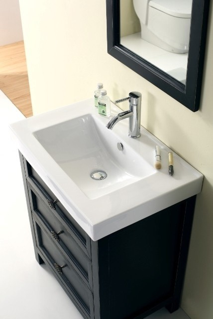 Torun 700mm Solid Timber Black Vanity traditional-bathroom-vanities-and-sink-consoles