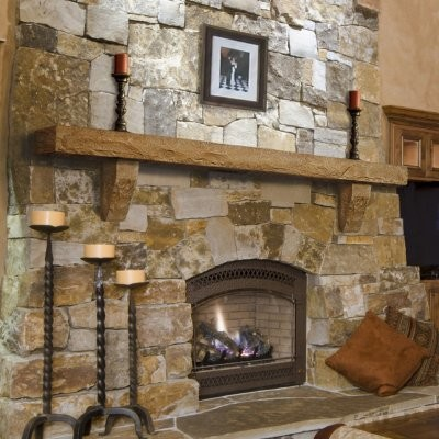 Cast stone mantel shelf by pearl mantels modern fireplace accessories by hayneedle - Beneficial contemporary fireplace mantel shelves ...