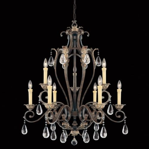 Hensley 2-Tier Chandelier by Savoy House traditional-chandeliers