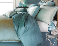 Profiles Turquoise Bedding Collection contemporary-bedding