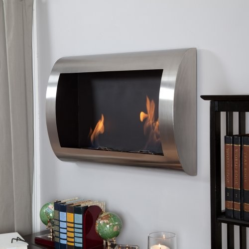 Anywhere Fireplace Chelsea Stainless Steel Indoor Fireplace Modern Fireplaces By Hayneedle