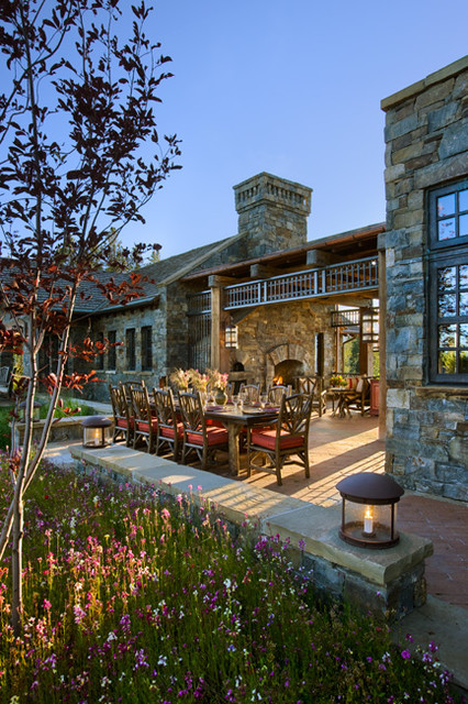 Quiet Waters Residence traditional-patio