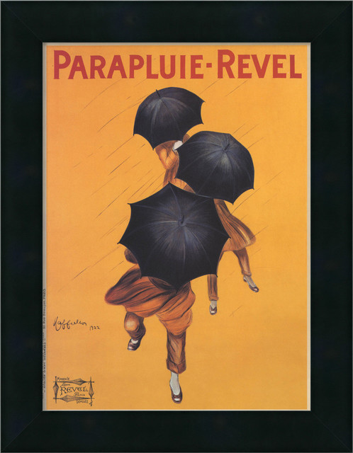 Parapluie-Revel (ca. 1922) Framed Print by Leonetto Cappiello traditional-prints-and-posters