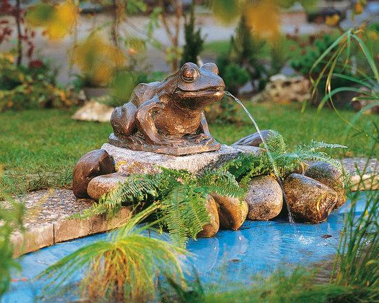 Bronze Statues - Frog -
