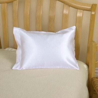 Toddler Pillow with Satin Case modern-bed-pillows